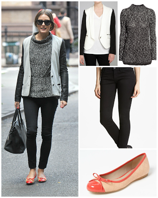steal her style: summer flats for fall.
