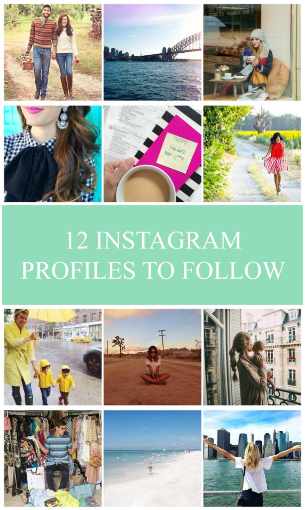 INSTAGRAMS TO FOLLOW.