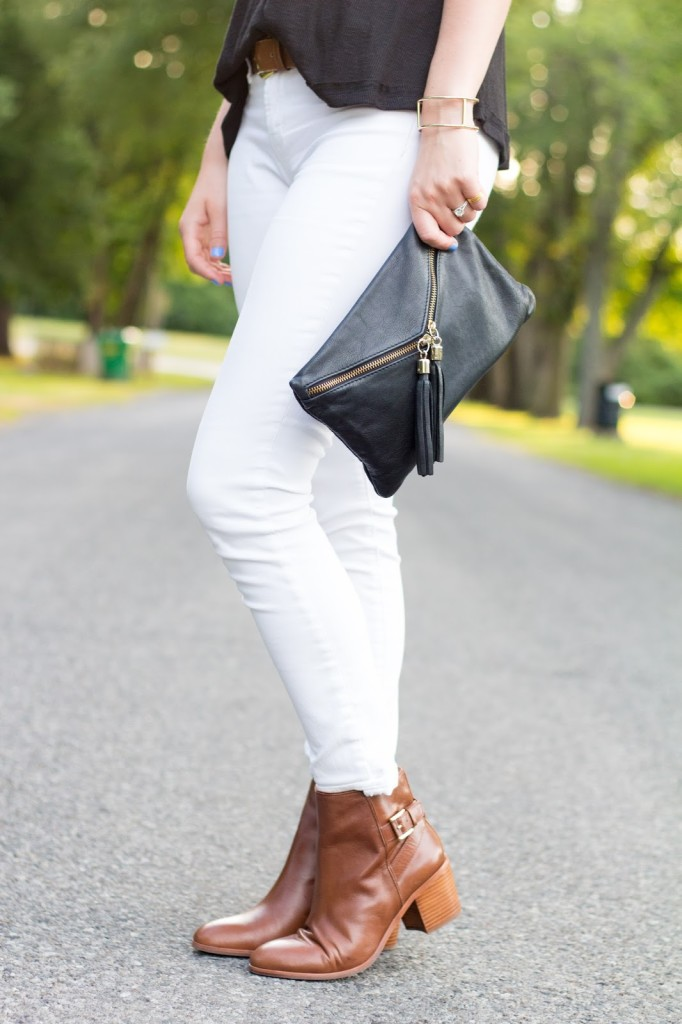 HOW TO WEAR FALL BOOTIES IN THE SUMMER.