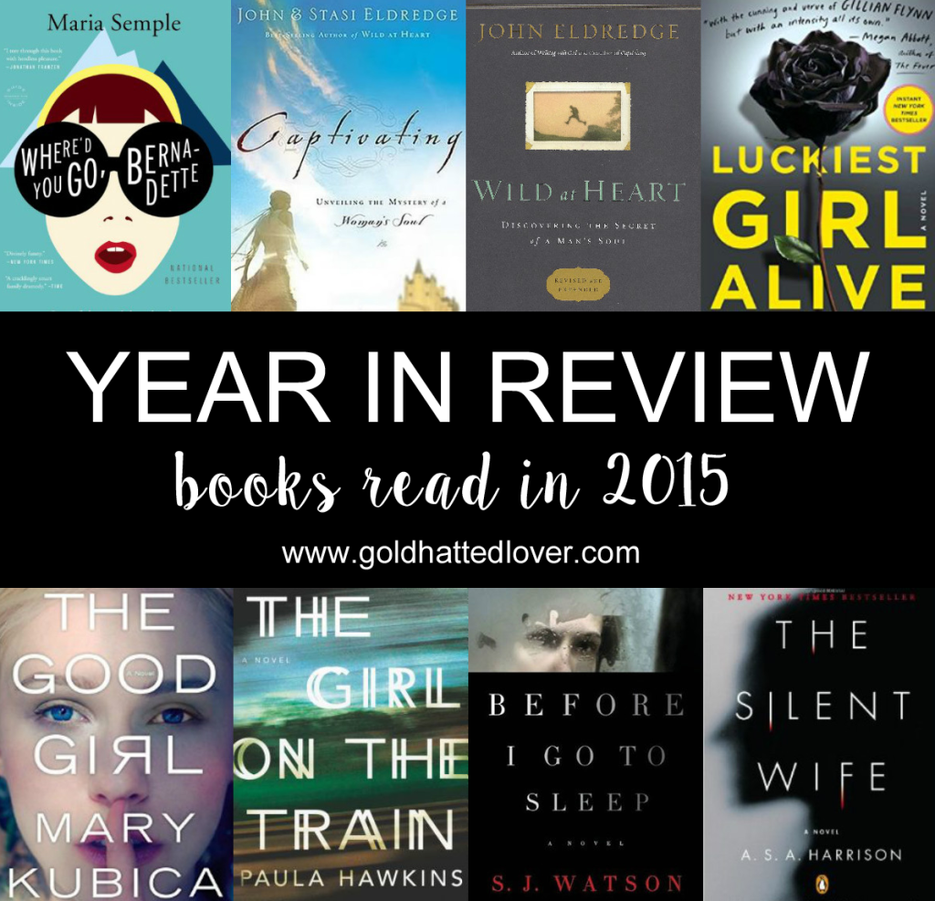 YEAR IN REVIEW 2015: BOOKS.