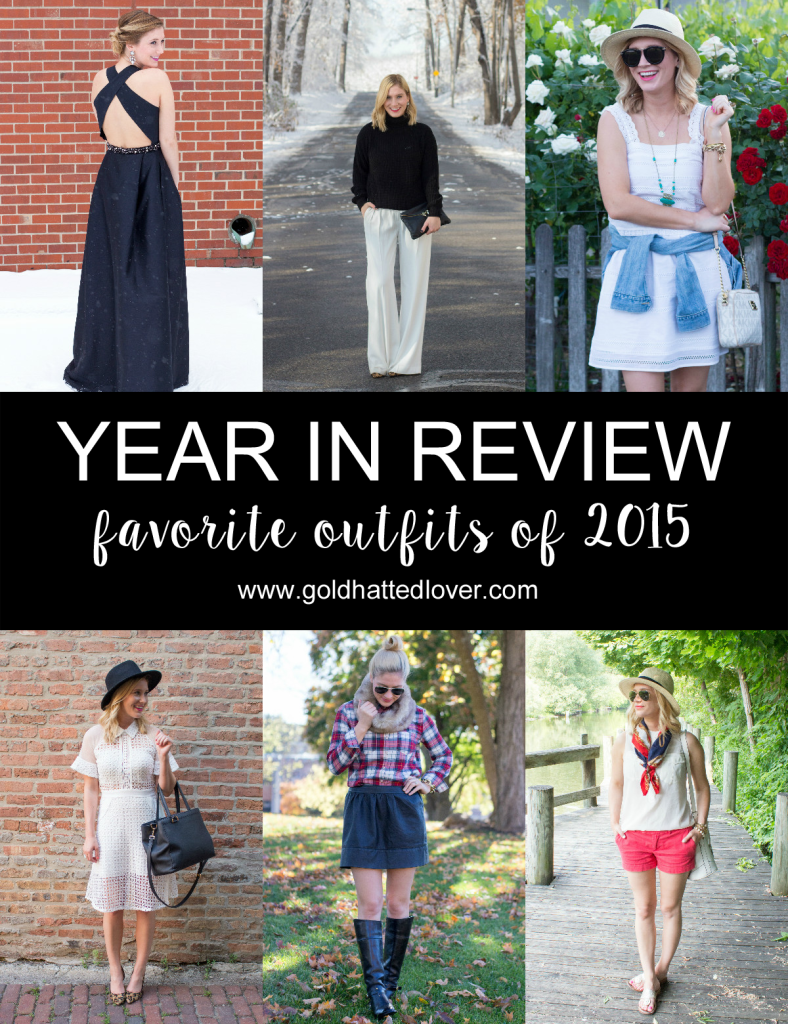 YEAR IN REVIEW 2015: FAVORITE OUTFITS.
