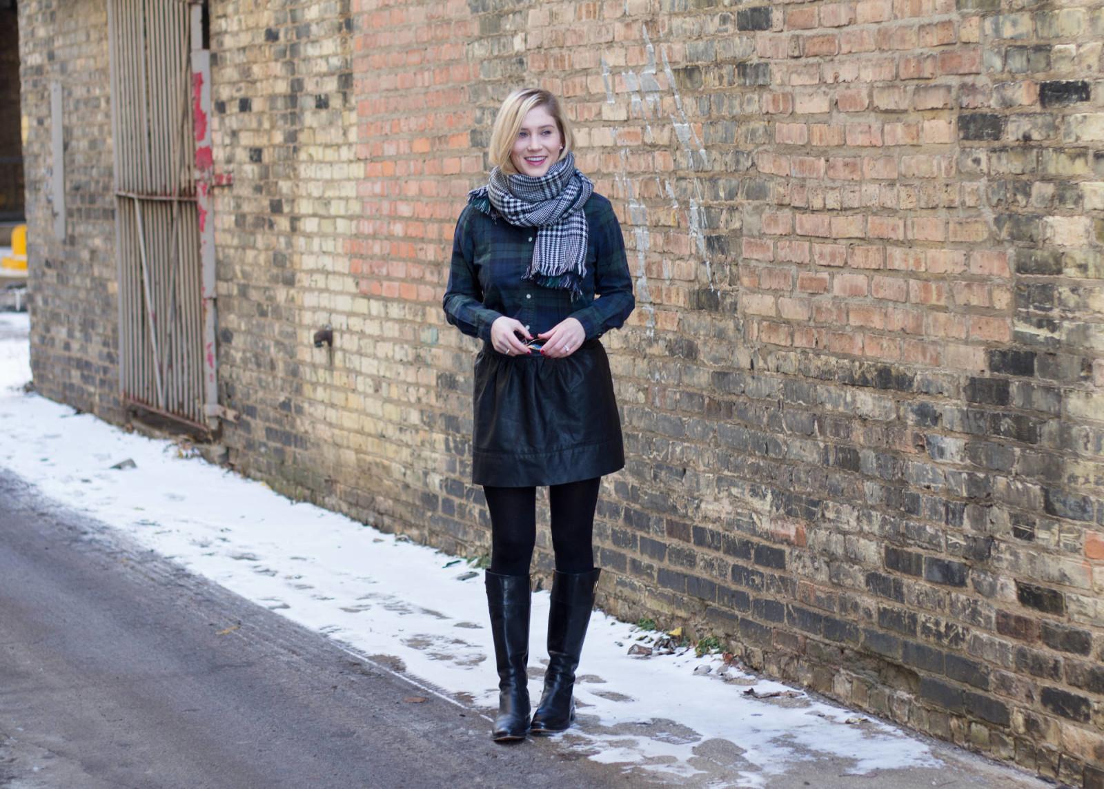 blackwatch plaid, ily couture reversible plaid blanket scarf