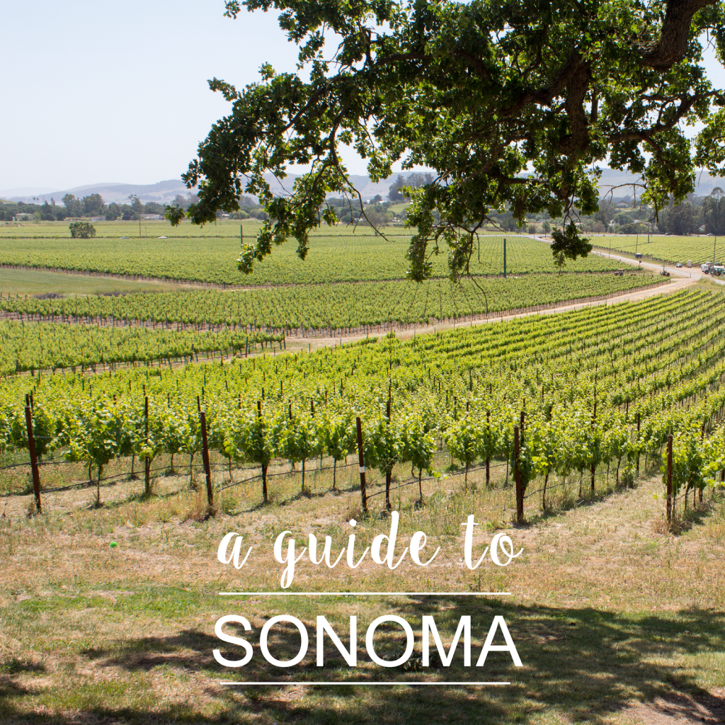 SONOMA TRAVEL GUIDE.