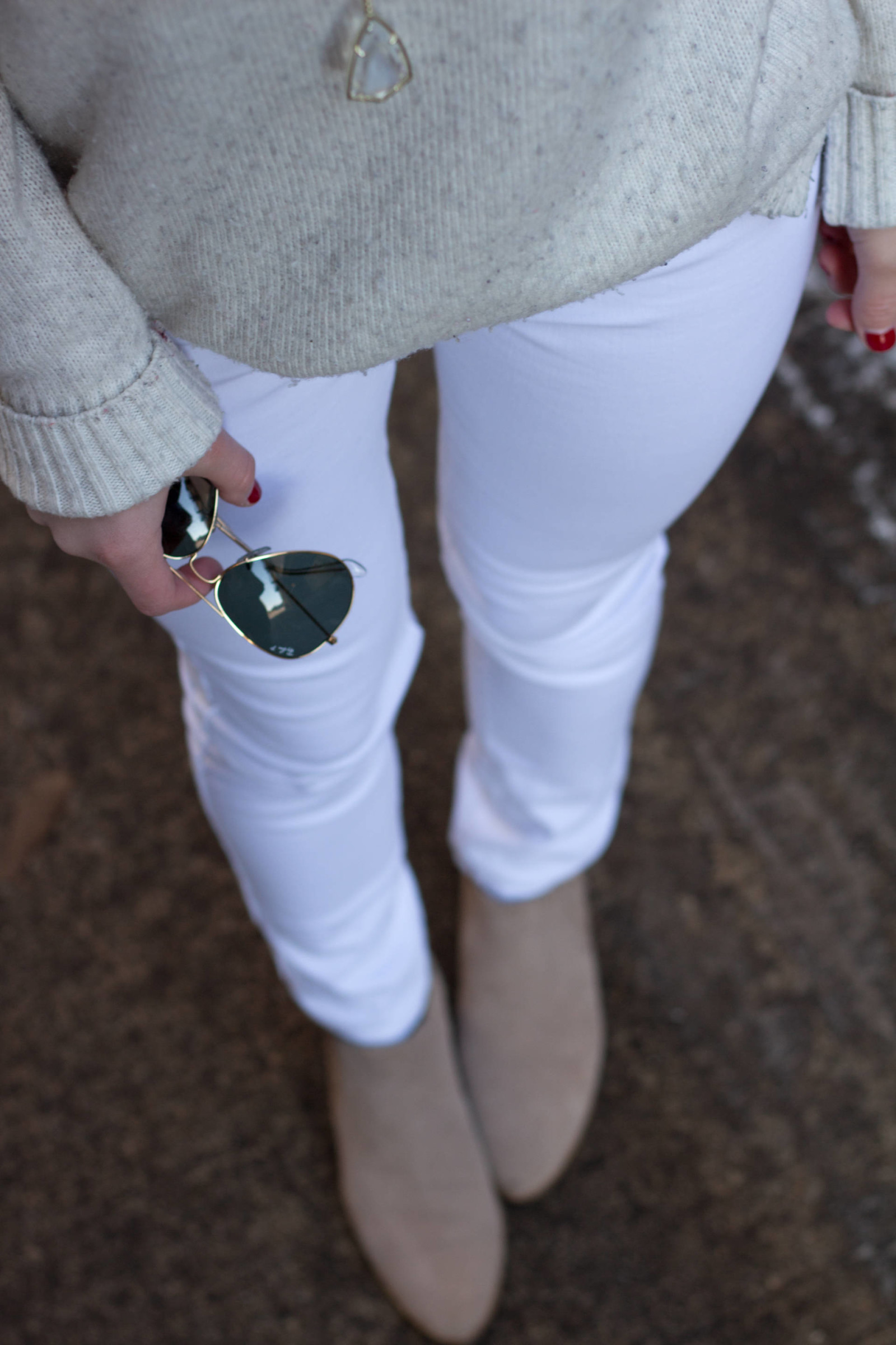 James Jeans Twiggy Frost White