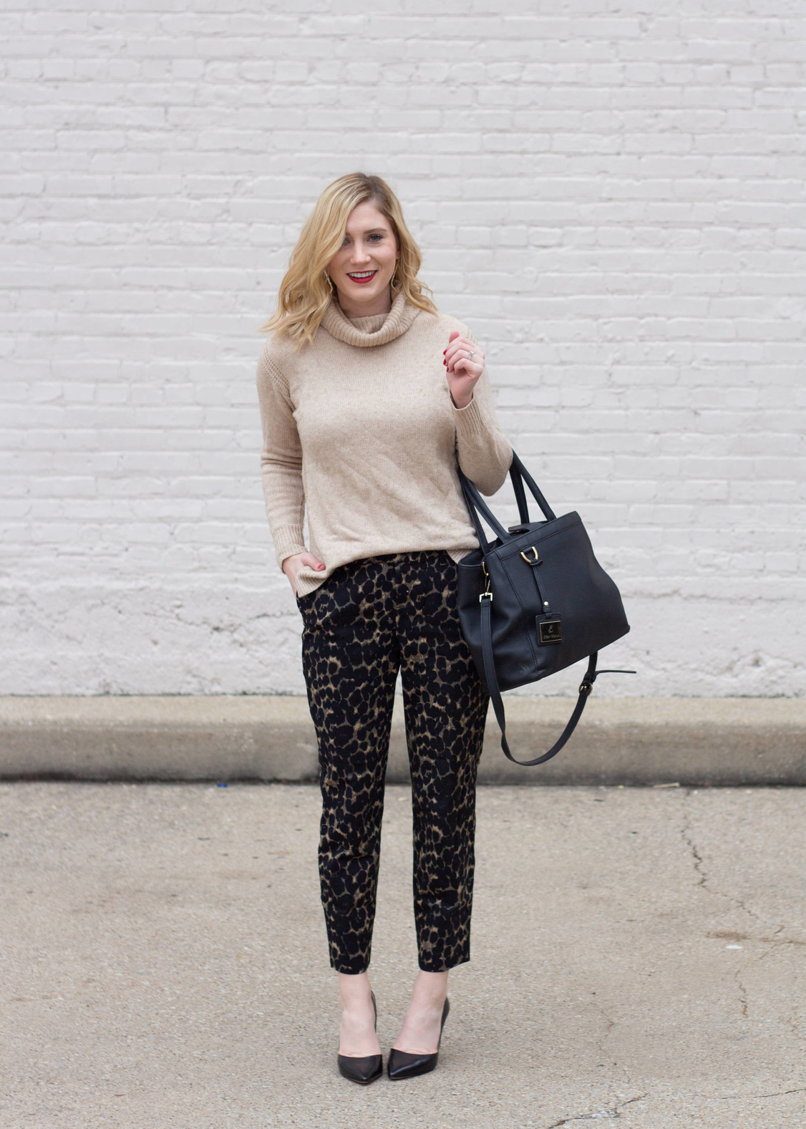 THE BEST PAIR OF $10 LEOPARD TROUSERS.