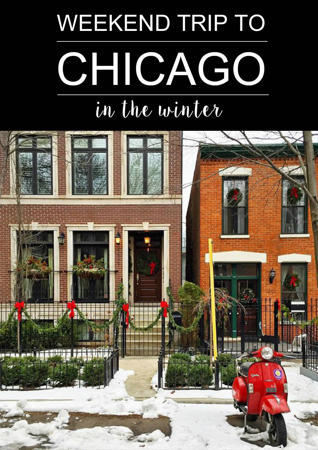 A Weekend Trip to Chicago in the Winter | www.goldhattedlover.com