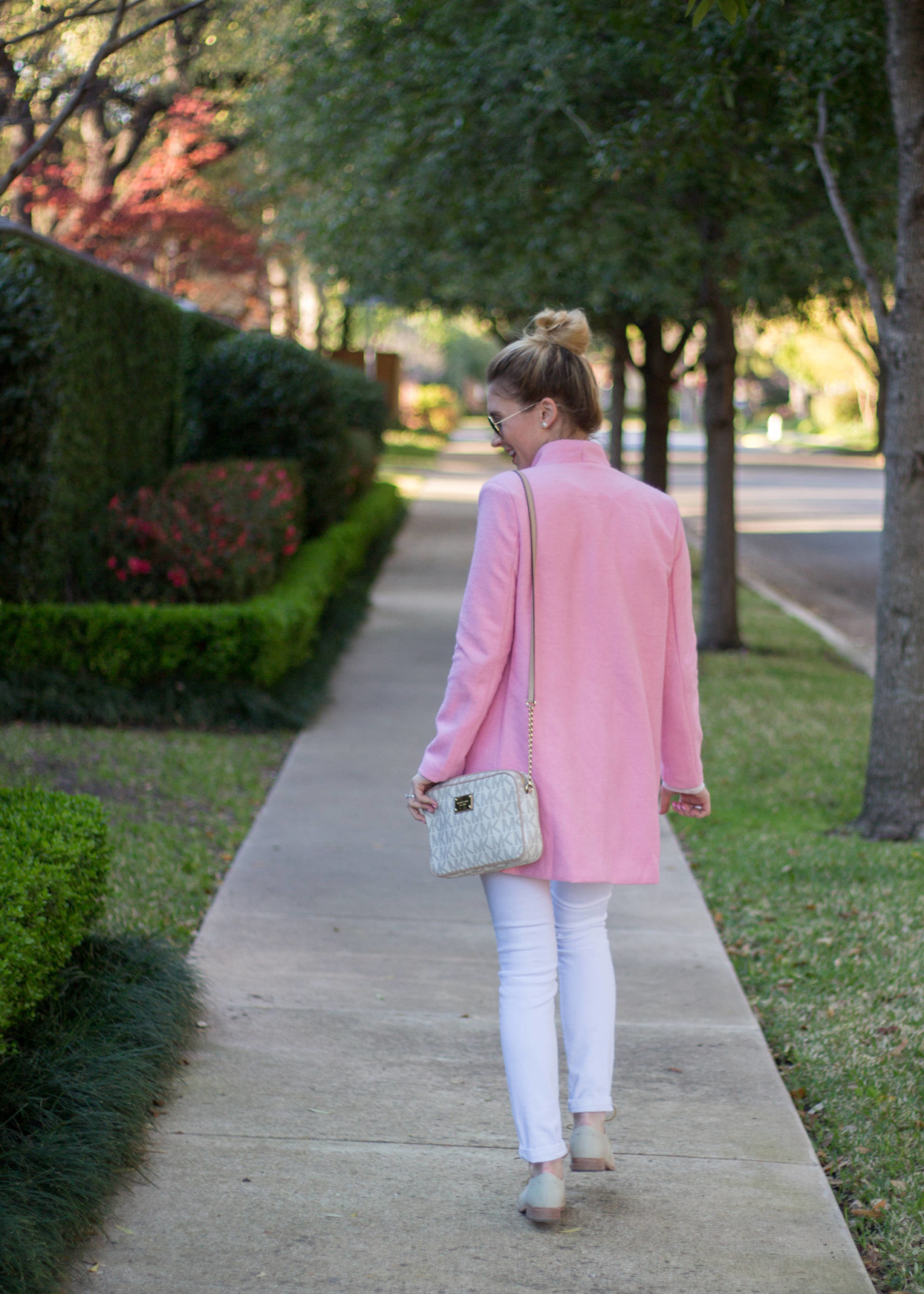 Pink Spring Coat | Gold-Hatted Lover