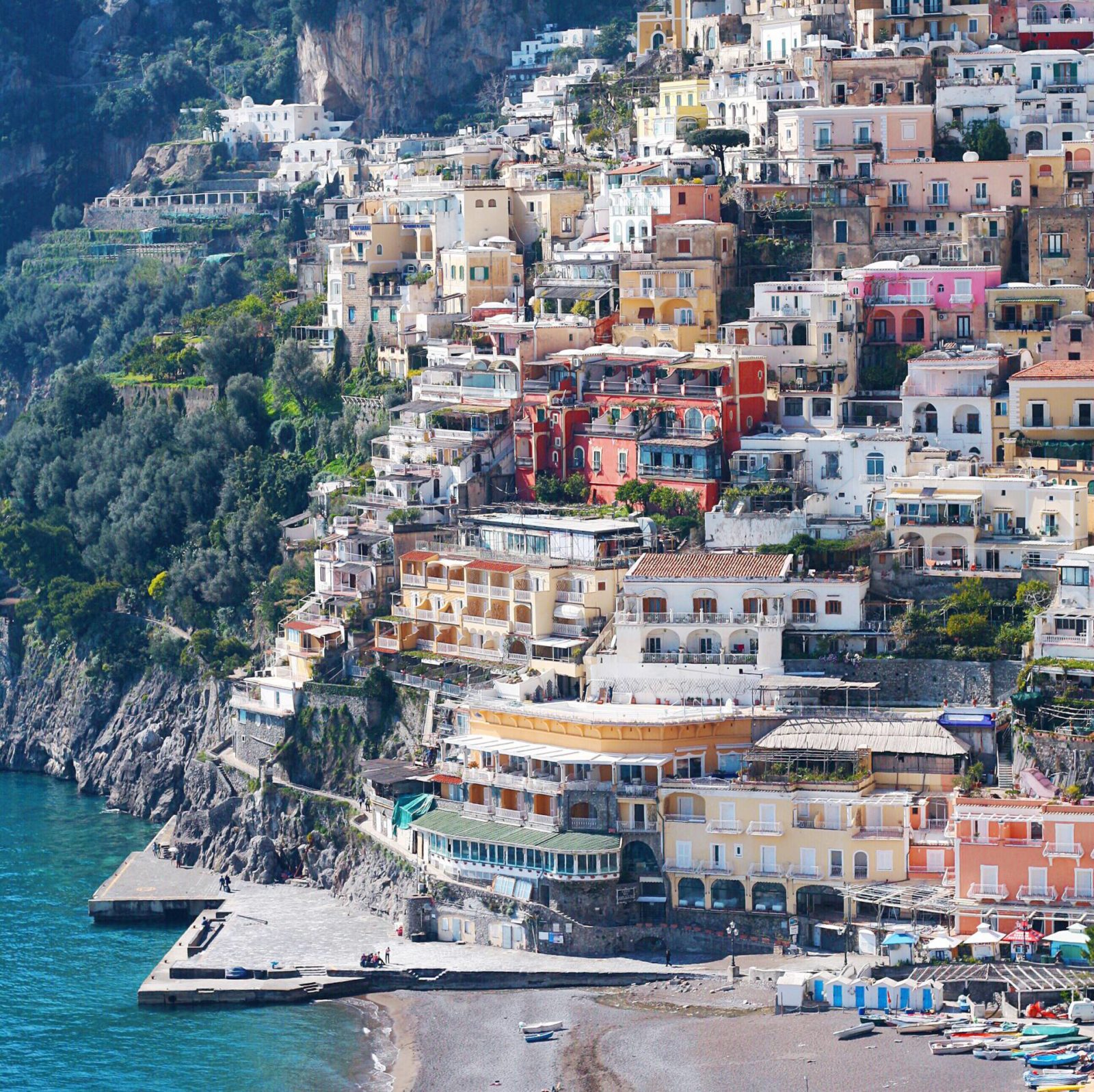 Positano, Italy | Gold-Hatted Lover