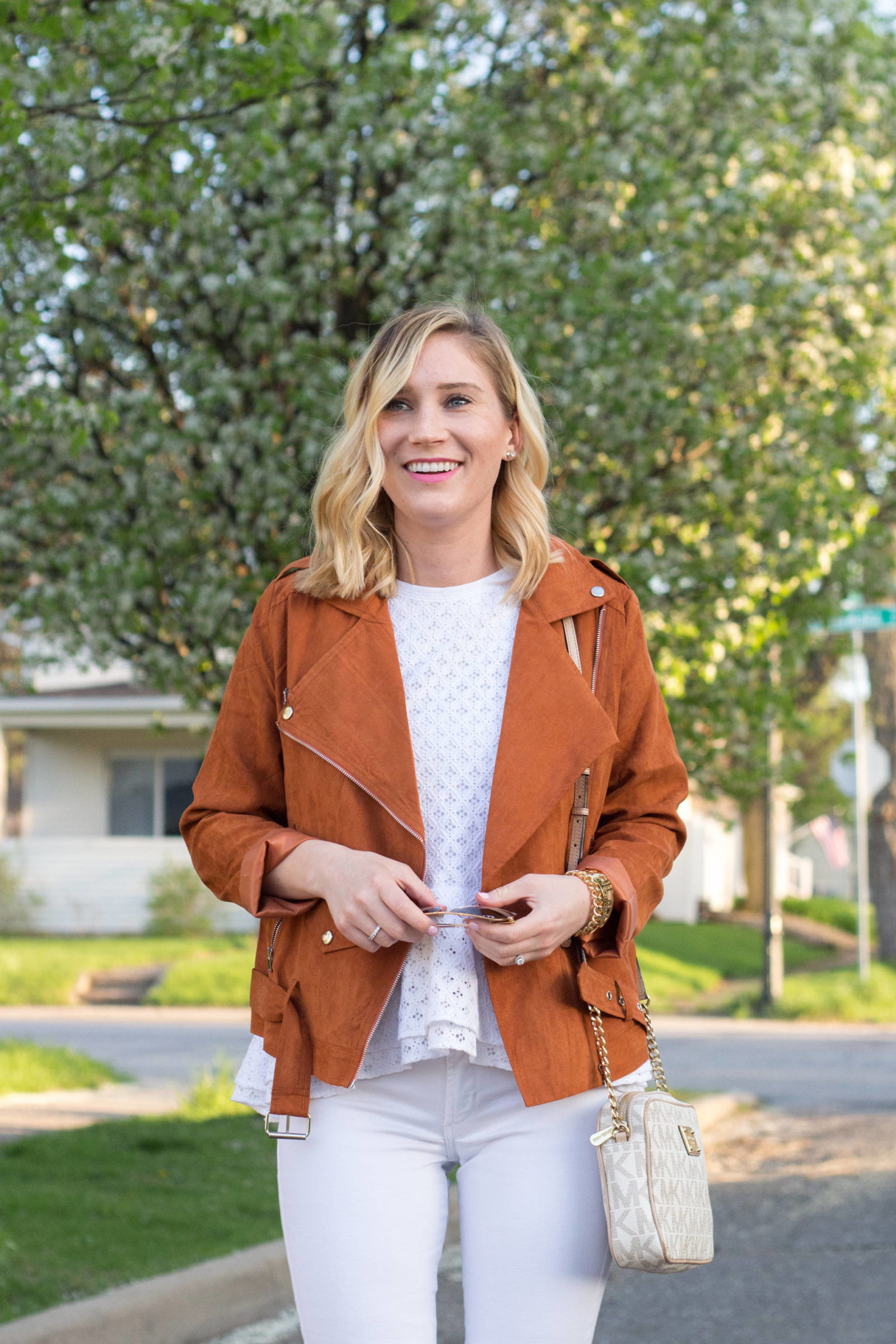 $30 Faux Suede Jacket | Gold-Hatted Lover