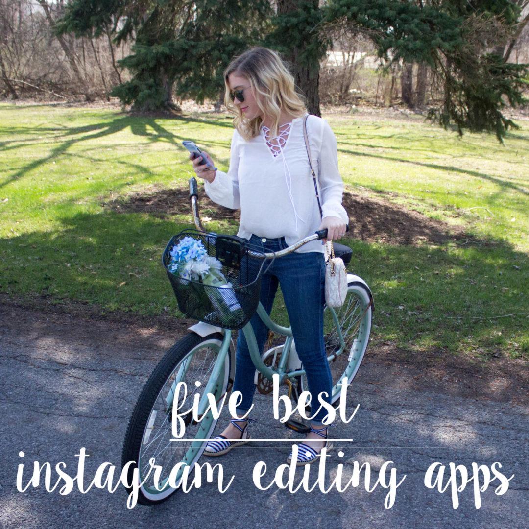 five best instagram editing apps