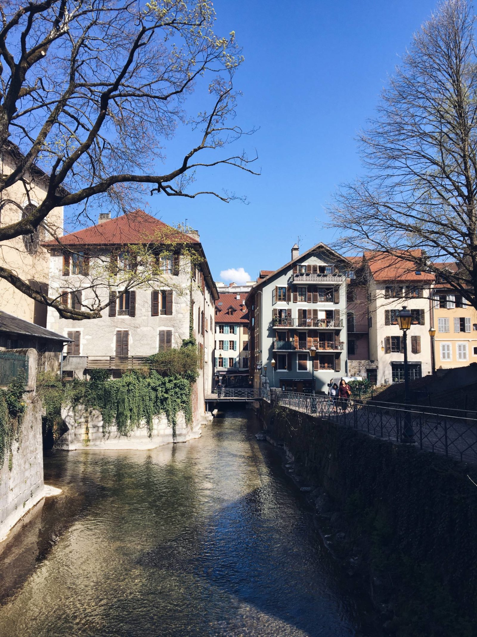 Spring along the Canals in Annecy France