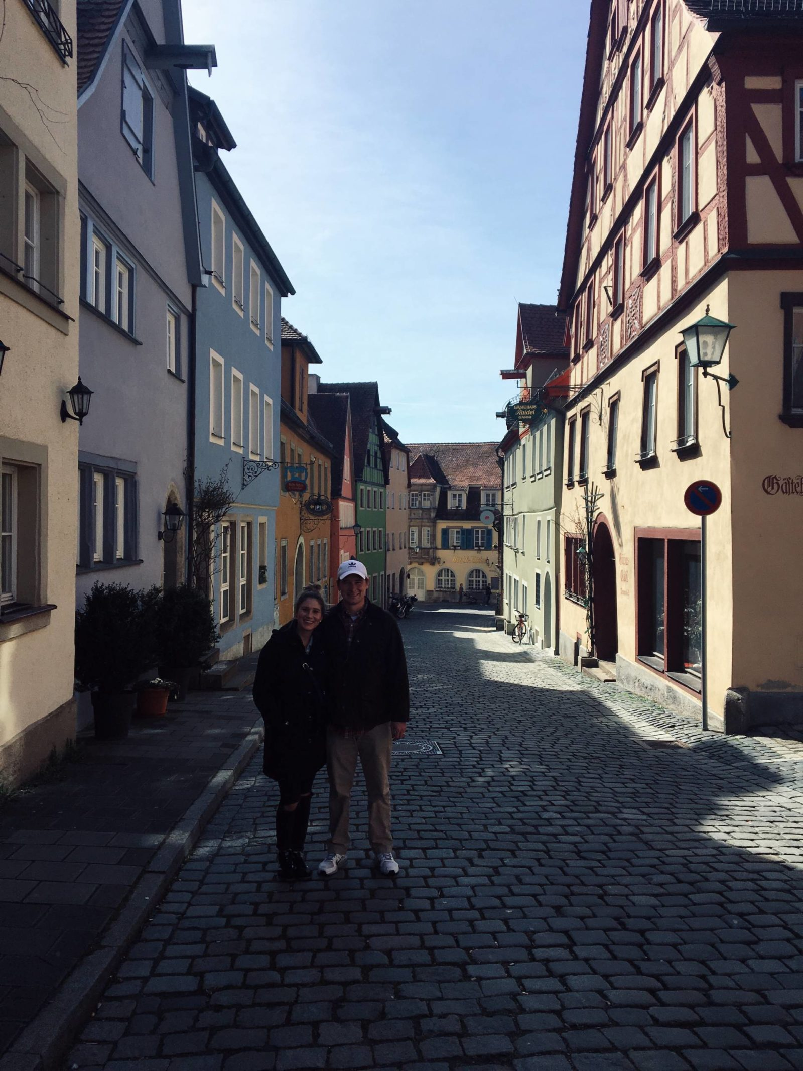 March in Rothenburg Germany