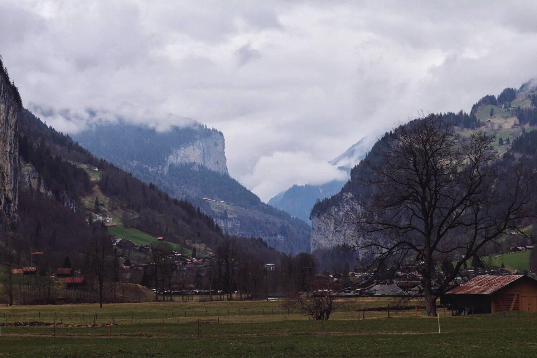 Valley Floor of the Swiss Alps