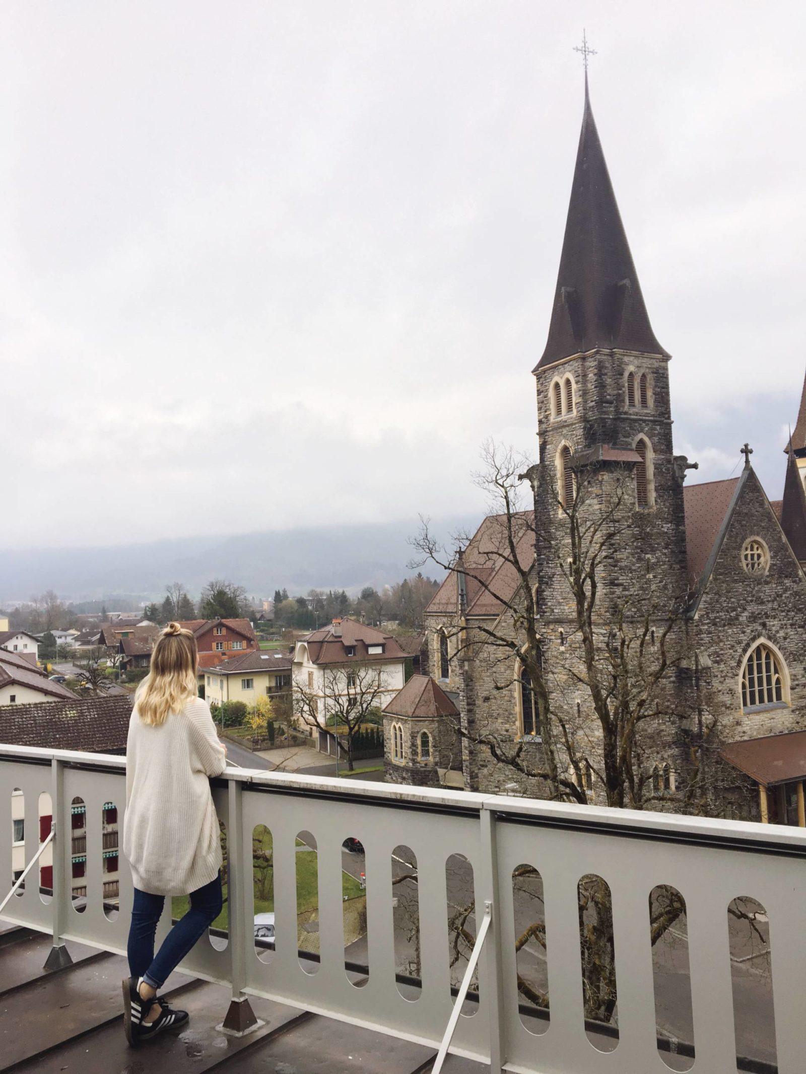 Waking up in Interlaken Switzerland